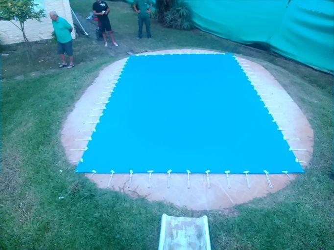 La cl nica venta de cobertores o protector para piscinas for Cobertores para piscinas precios